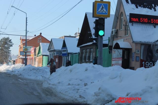 Улица Туркестанская.