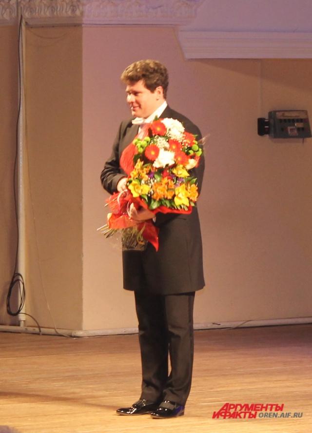 Денис Мацуев в Оренбурге.