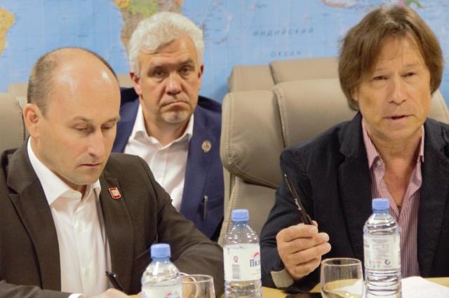 Заседание Изборского клуба.
