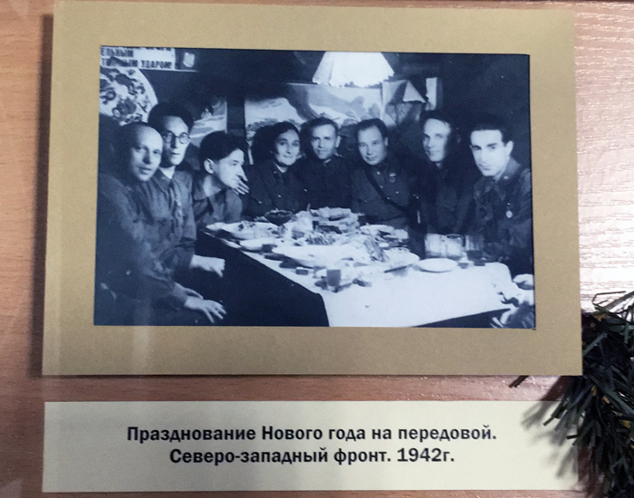 Фотография с мини-выставки.