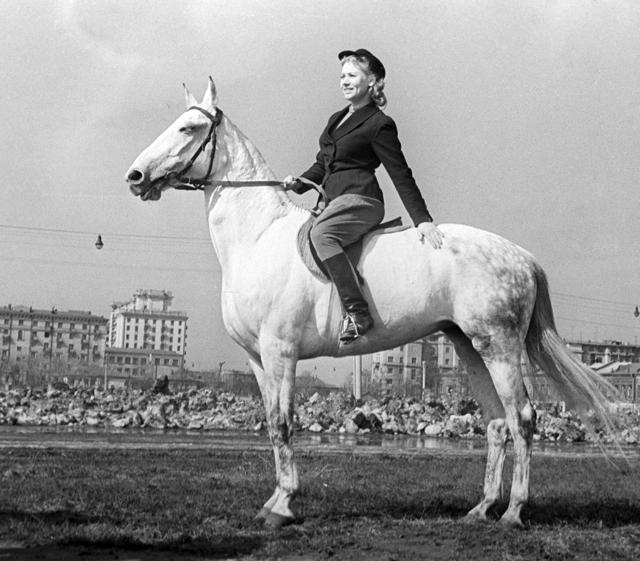 Лидия Смирнова. 1958 год.