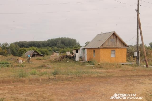 Новый дом деда Жени.