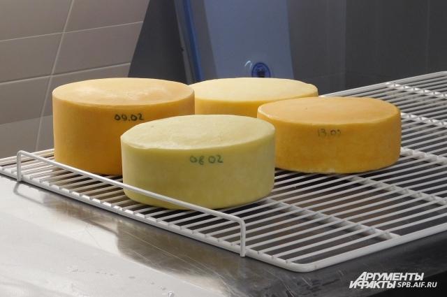 Этот сыр уже готов к употреблению.