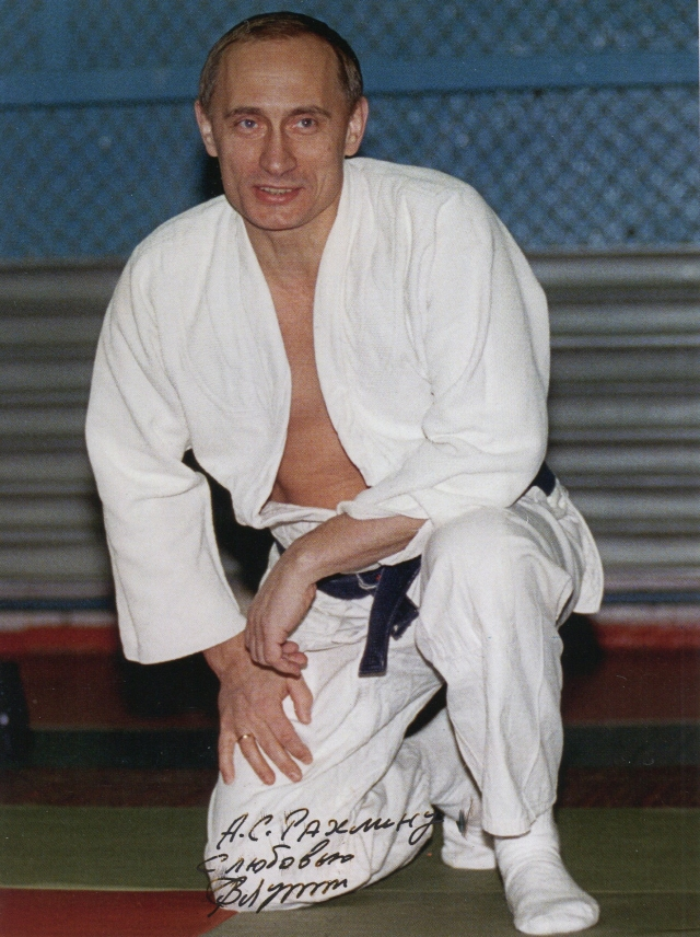 Путин был очень близок с тренером.