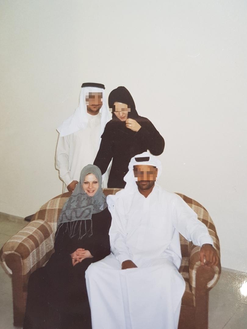 Анастасия, её муж и друзья семьи.