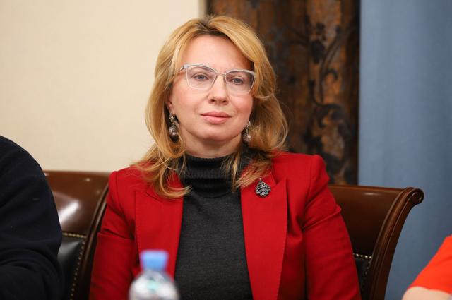 Заместитель руководителя Департамента природопользования и охраны окружающей среды города Москвы Евгения Семутникова.