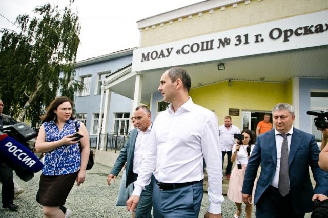 В Орске школа №31 преобразилась за два месяца.