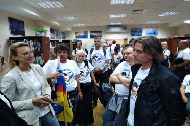 В Казани гости первым делом они посетили Дом дружбы народов Татарстана.