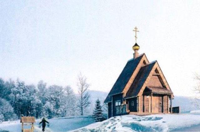 Кроме каменного храма комплекс будет включать еще и деревянный
