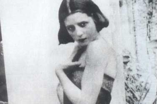 Эва Дуарте в возрасте 15 лет