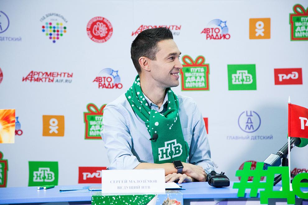В Челябинске Дедушка будет 24 и 25 ноября вместе со своим помощником – телеведущим Сергеем Малозёмовым.