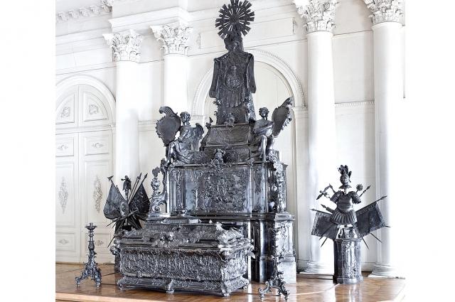 Здесь располагались мощи князя, на данный момент находится в Эрмитаже.