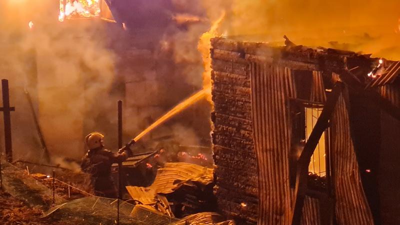 пожар улан-удэ 27 мая 2021