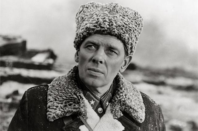 Кадры из фильма Горячий снег . Режиссёр Гавриил Егиазаров. 1972 г