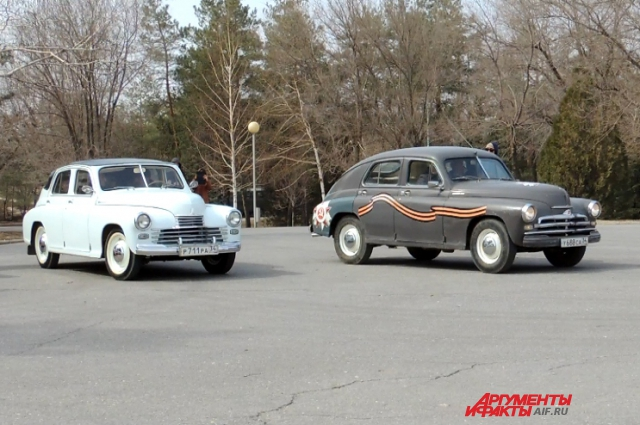 Свой уникальный автопробег Победы начали со Сталинграда