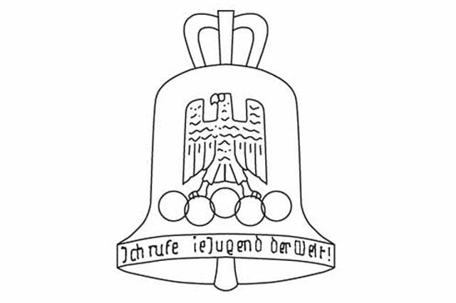 Эмблема Олимпиады 1936 года