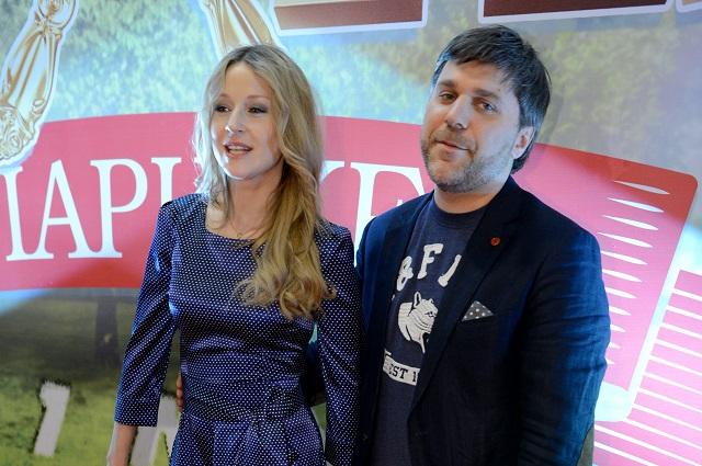 Актеры Ольга Медынич и Джемал Тетруашвили.
