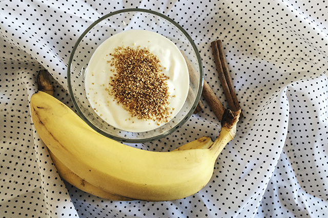 Домашнее мороженое из бананов и лимонной цедры