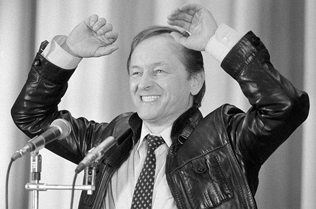 Михаил Ножкин, 1984 г.