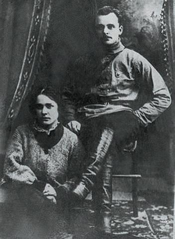Анна Стешенко с Дмитрием Фурмановым.