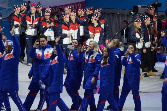 Российская сборная самая многочисленная.