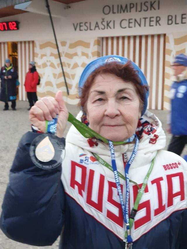 Первое золото чемпионата мира.