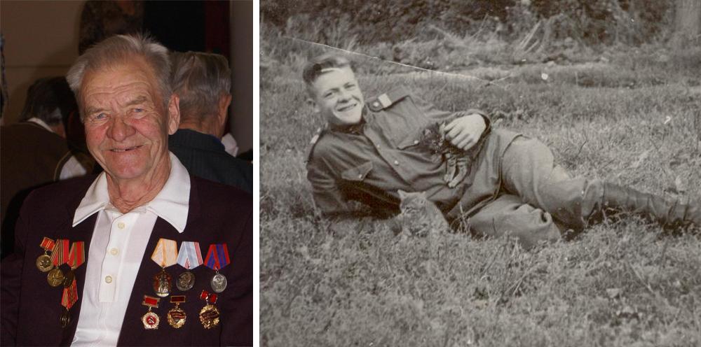 Александр Петрович Дмитриев – ветеран УАЗа во время вручения памятной медали