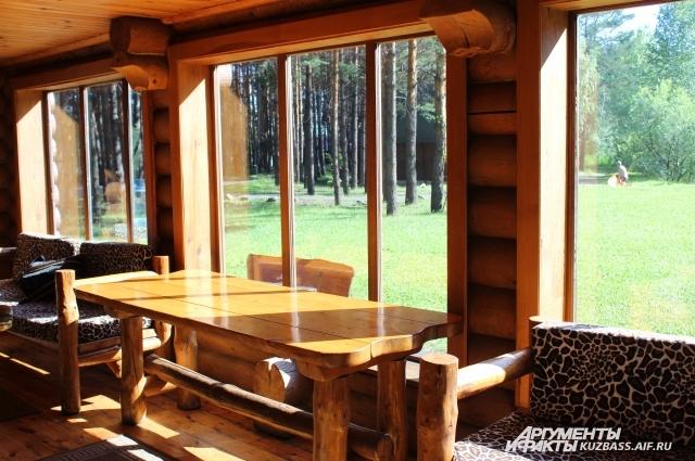 Цены на домики на базах отдыха в Кузбассе кусаются.