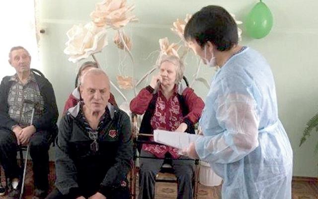 Всего в доме-интернате Брасовского района проживают 43 пенсионера.