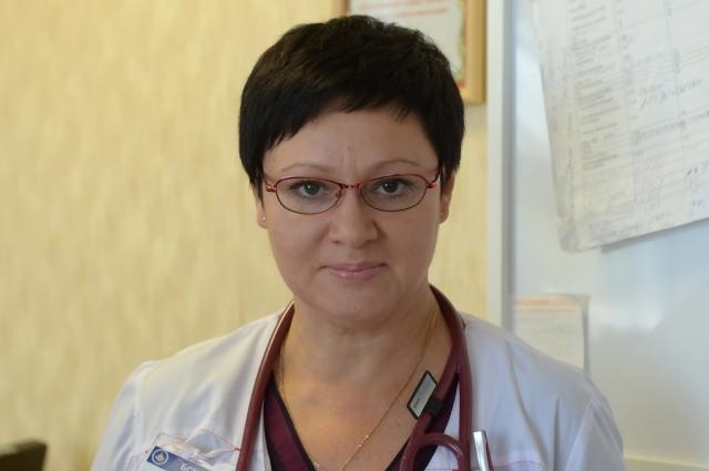 Марина Бунина заведует отделениями заведует COVID-5 и COVID-6