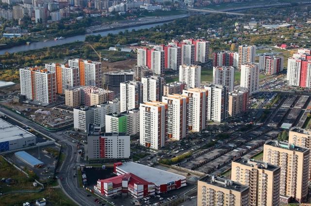 Строительство в Тюмени.