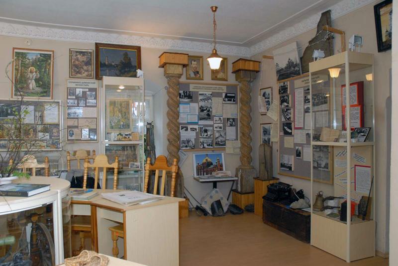 Помещения музея Саровской пустыни в наши дни