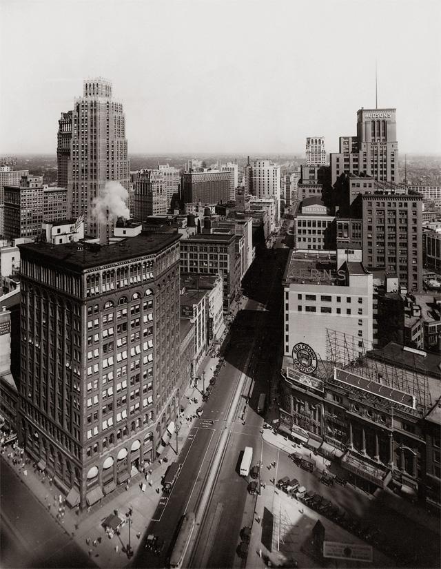 Процветающий Детройт в 1931 году