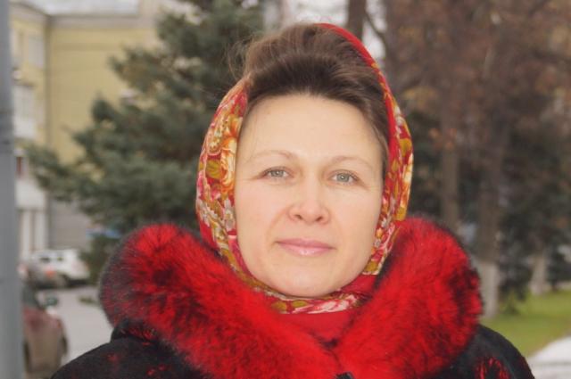 Матушка Елена Кожеватова.