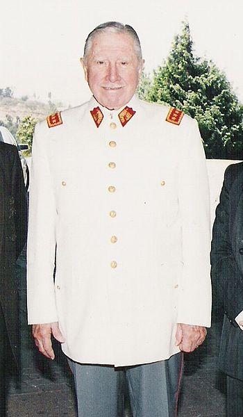 Аугусто Пиночет, 1995 год.