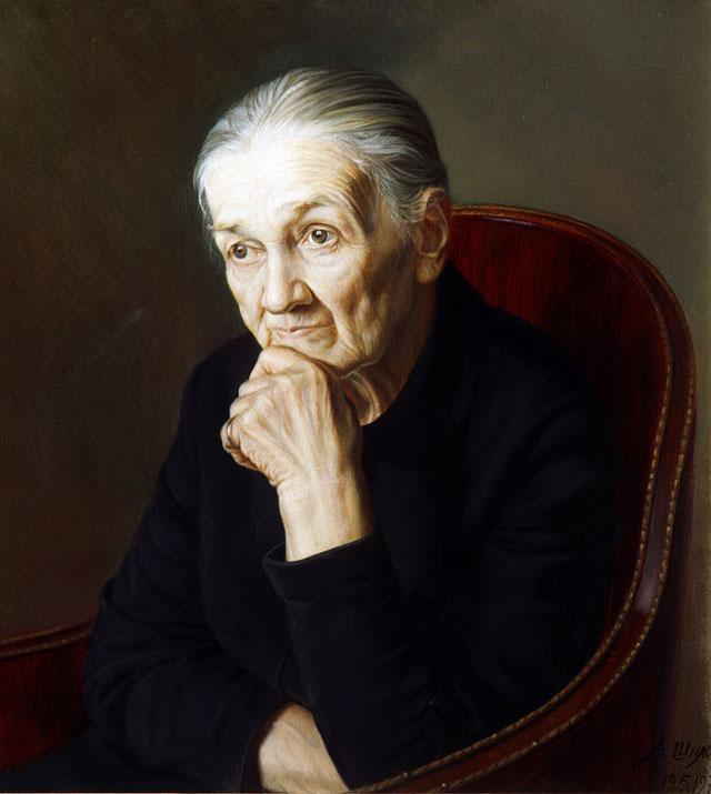 Художник Александр Шилов. «Моя бабушка». 1977г.