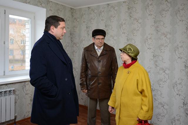 Губернатор лично удостоверился, что приобретенные помещения имеют все заявленные виды благоустройства.