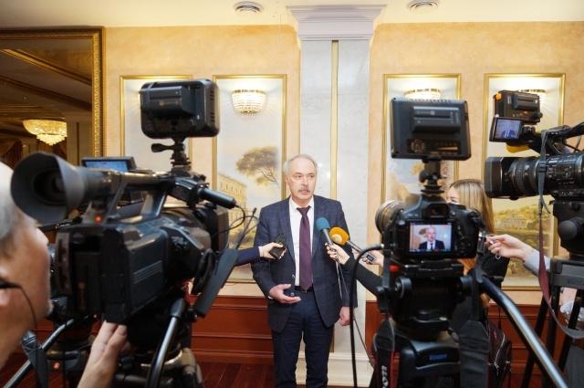Андрей Твардовский, ректор ТвГТУ, доктор физико-математических наук, профессор.