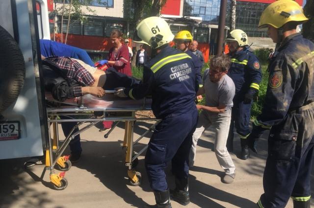 Пострадавшего пешехода госпитализировали.