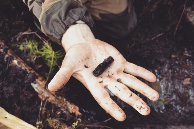 Тот самый медальон, по которому удалось установить личность солдата.