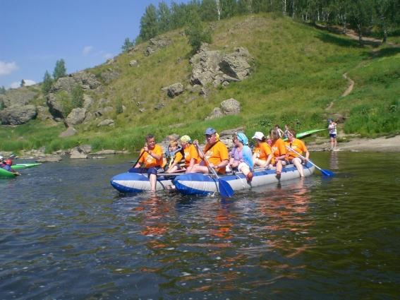 Анна Савчук и ее товарищи сплавляются каждое лето.