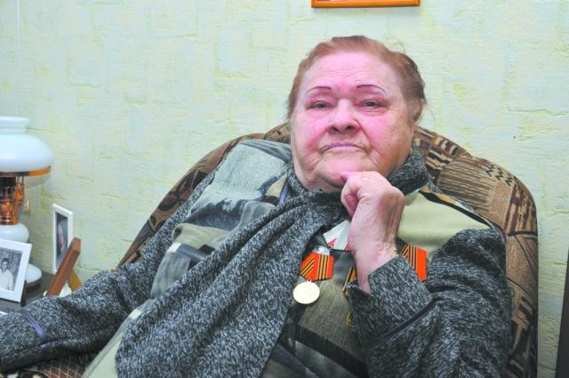 Анастасия Никитична Лапина.