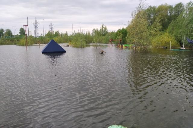 Паводок в Перми.