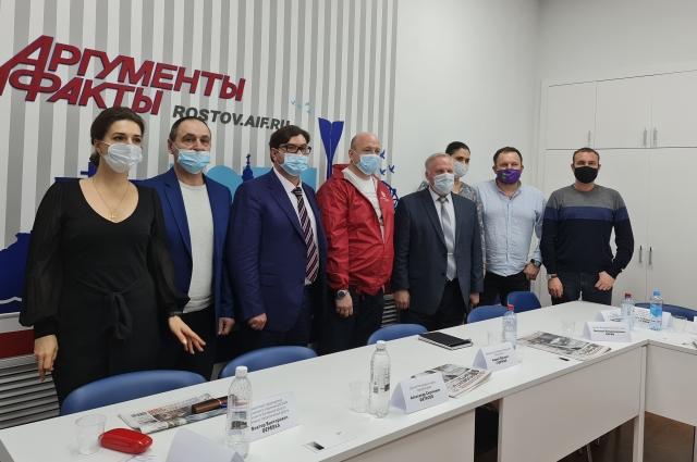Круглый стол прошёл в пресс-центре «АиФ-Ростов».