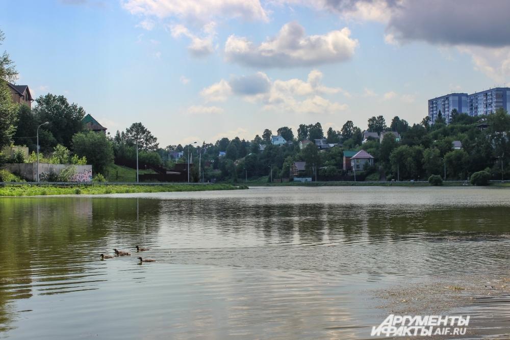 Мотовилихинский пруд.