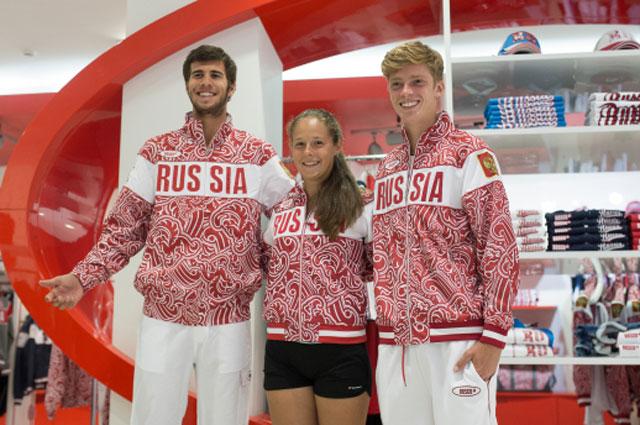 Теннисисты Карен Хачанов, Дарья Касаткина и Андрей Рублев