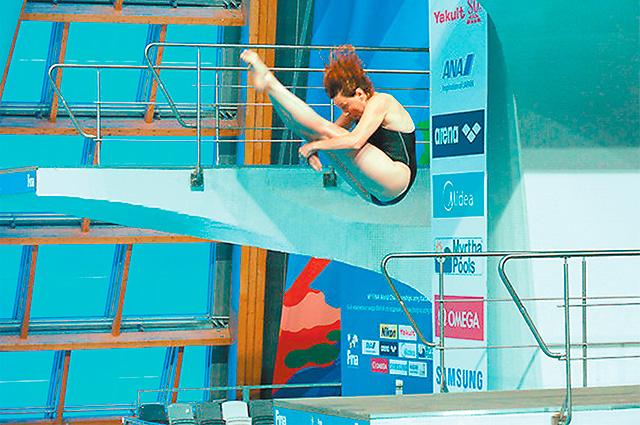 «Золотой» прыжок Елены Смирновой.