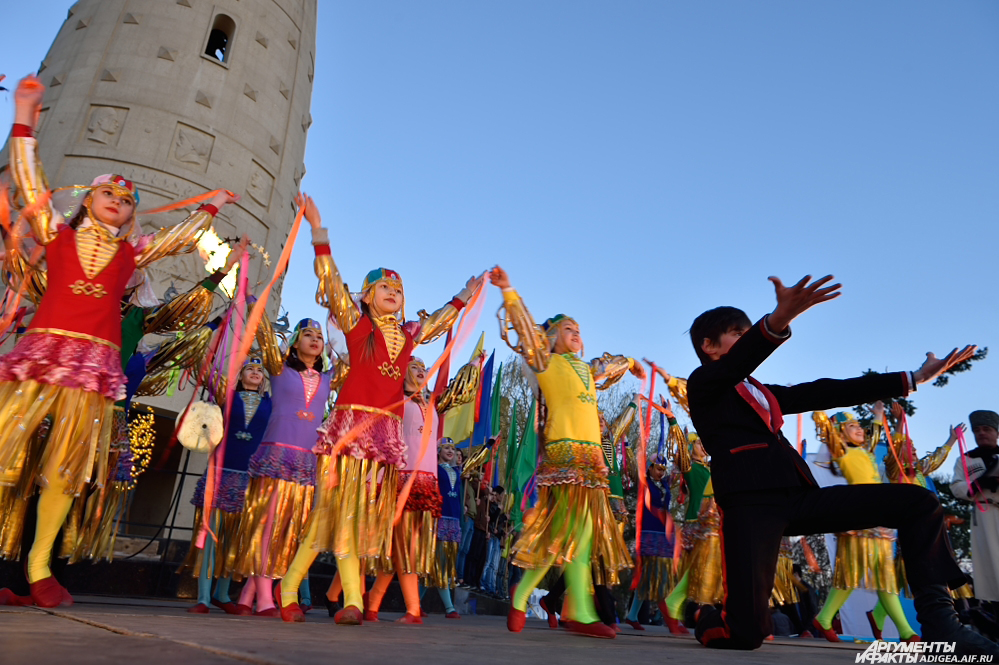 Навруз, Новруз, адыгский новый год, танцы