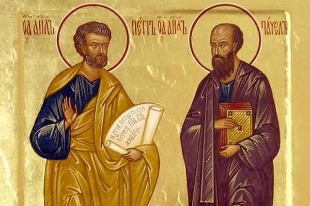 Икона «Петр и Павел»