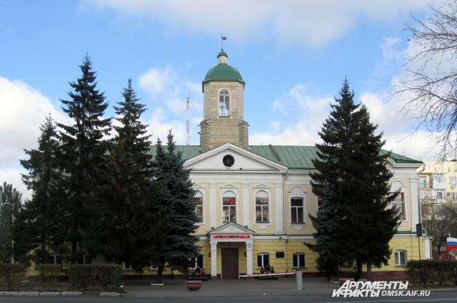 Гаупвахта - старейшее здание Омска.